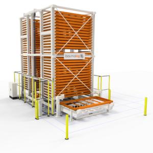 Automatizētās uzglabāšanas sistēmas TwinTower